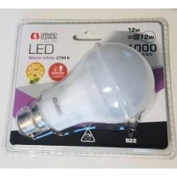 AMPOULE STANDARD LED B22...