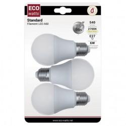 AMPOULE STANDARD LED E27 6W...