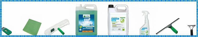 Produits professionnels pour nettoyage de surfaces vitrées - Prod'hyge
