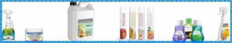 Désodorisants et destructeurs d'odeurs pour professionnels - Prod'hyge